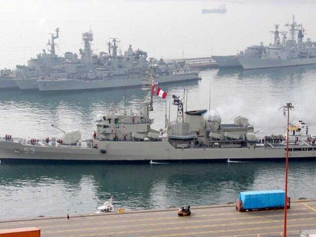 """Marina de Guerra: """"Barcos chinos no ingresaron a mar peruano"""""""