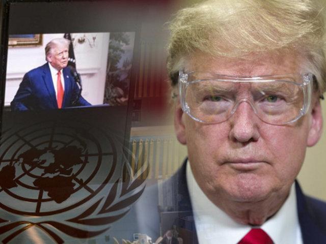 Trump pide en la ONU que China pague por la pandemia del COVID-19