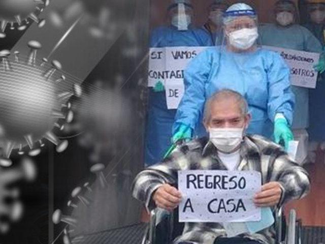 Trujillo: sexagenario vence a la COVID-19 tras estar cuatro meses en UCI