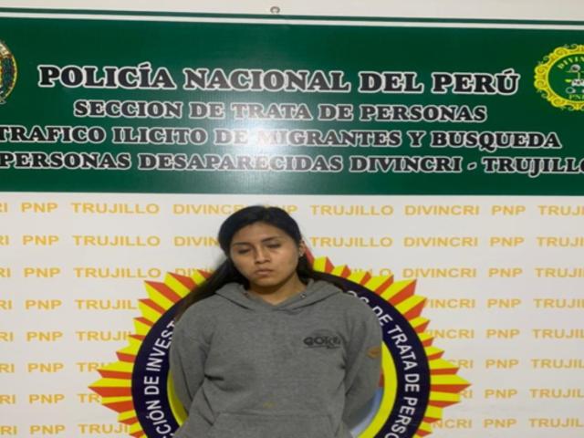 La Libertad: capturan a joven acusada de captar a menores para prostituirlas