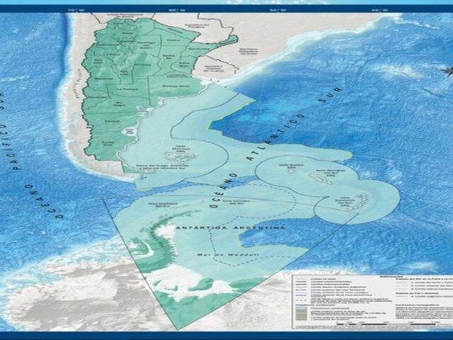 Argentina presentó nuevo mapa que la convierte en nación bicontinental