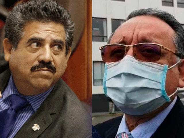 """Manuel Merino: """"Hay una fuerte presión contra el congresista Alarcón"""""""