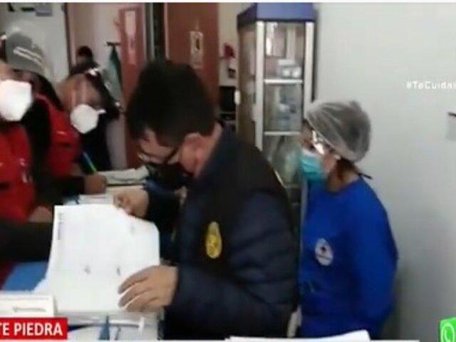 Puente Piedra: Detienen a falsos médicos que usaba sellos adulterados