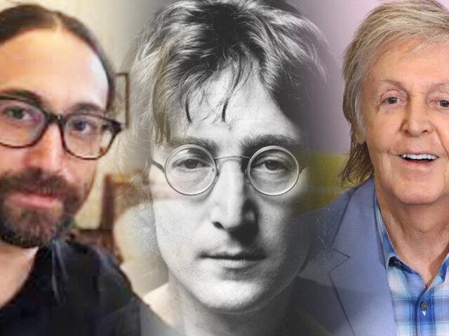 Hijo de John Lennon entrevistó por primera vez a Paul McCartney