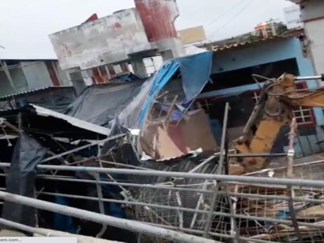 Tumbes: desalojan a cerca de 200 comerciantes instalados de manera ilegal en límite con Ecuador