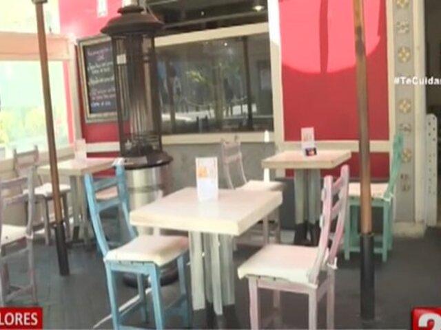 Miraflores: restaurantes y cafés podrán habilitar terrazas para atender a más clientes