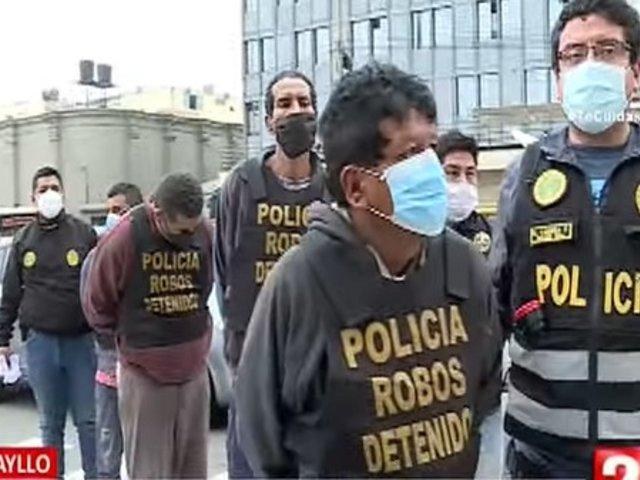 Carabayllo: Cae banda que asaltó ferretería tras secuestrar a trabajadores