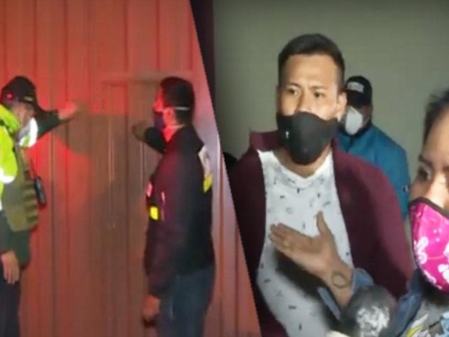 Intervienen familia que armaba escándalo en una fiesta en Bellavista