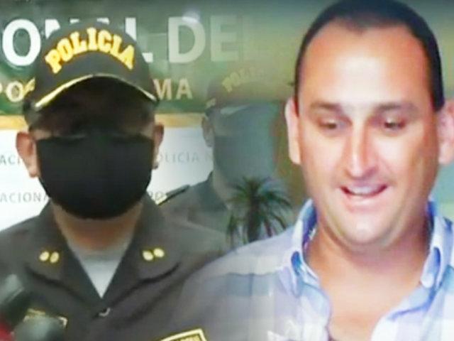 PNP confirma que asesino de policía tenía antecedentes penales