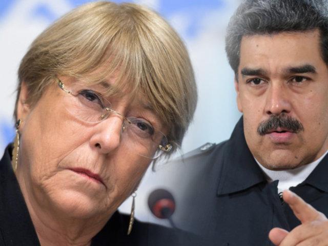 Bachelet denunció que régimen de Maduro asesinó a más de 2 mil personas este año