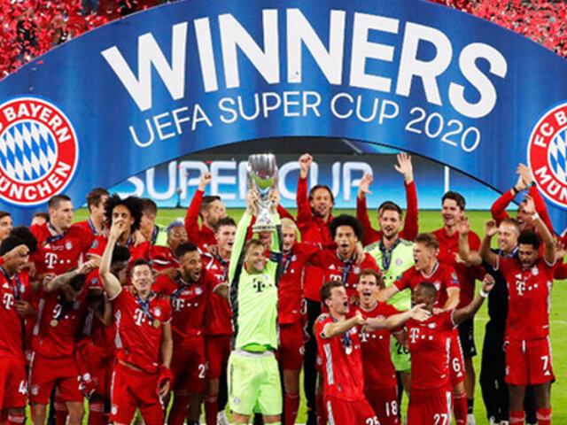 Bayern Munich se consagró campeón de la Supercopa de Europa