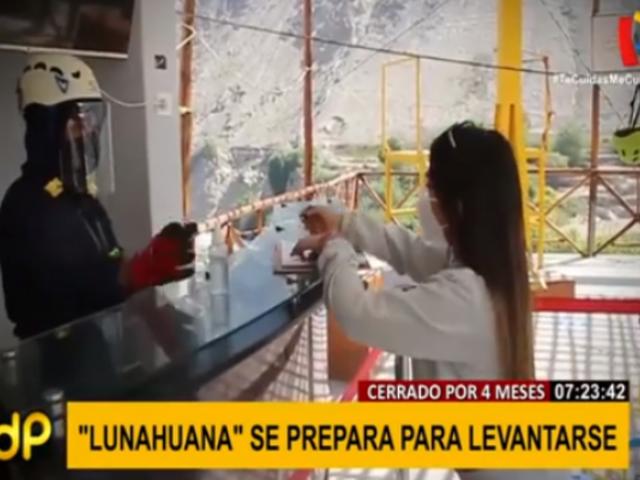 Turismo en Lunahuaná se prepara para levantarse tras cierre de cuatro meses