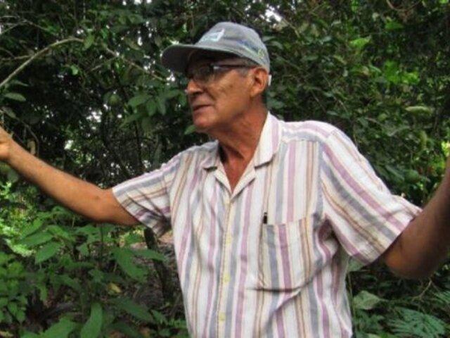 Madre de Dios: peruano es nominado a importante premio internacional por defensa medioambiental