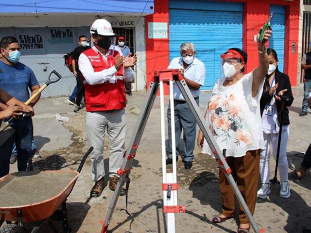 Desarrollarán obras de reconstrucción por S/ 12 millones en la provincia de Chepén