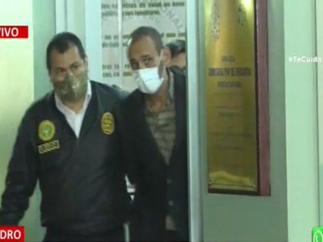 Trasladan a la Dirincri al sujeto que asesinó a policía en comisaría de Orrantia