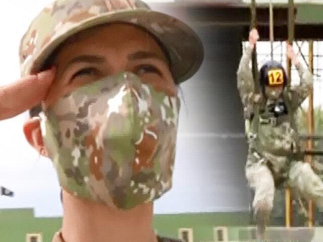 En Carne Propia: reportera se convierte en aspirante a cadete militar