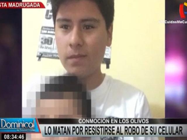 Los Olivos: joven skater es asesinado a balazos tras resistirse al robo de su celular