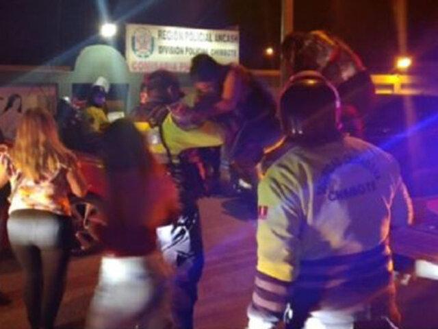 Chimbote: intervienen a 28 personas que participaban en una fiesta