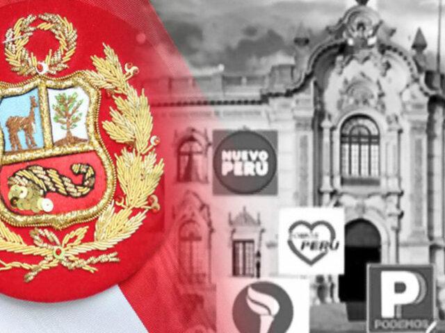 Arranca la carrera electoral por la presidencia del Perú