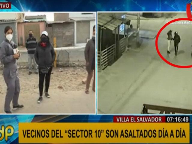 """VES: sujetos armados usan 'asalto al paso' en el """"sector 10"""""""