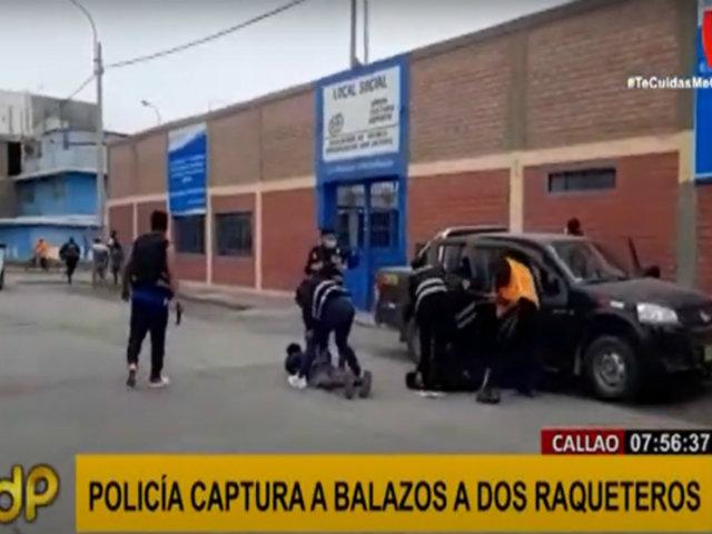 Operativo policial detiene a siete bandas criminales en el Callao en las últimas 48 horas