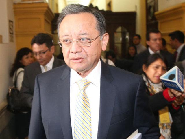 Subcomisión de Acusaciones Constitucionales admite denuncias contra Edgar Alarcón