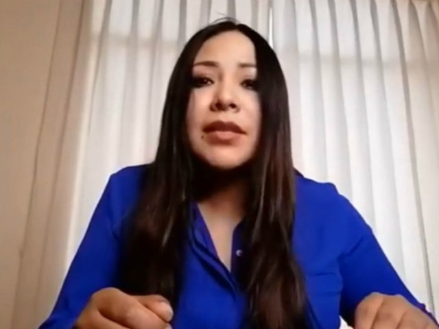 Cecilia García habría postulado al Congreso con una identidad diferente
