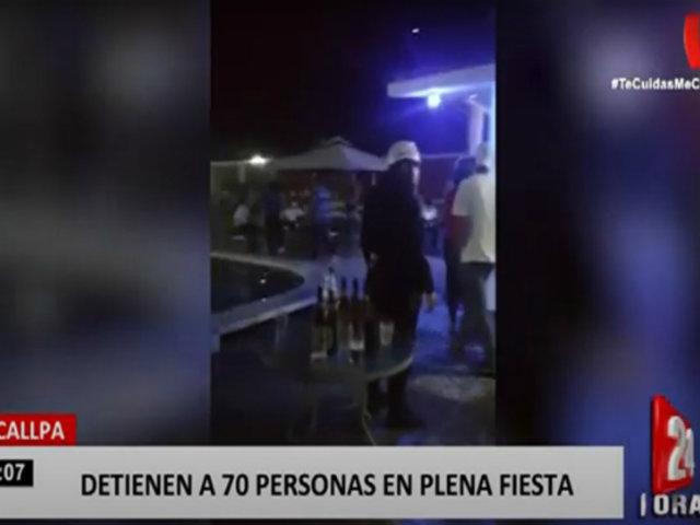 Cerca de 70 personas fueron intervenidas por realizar fiesta en hotel