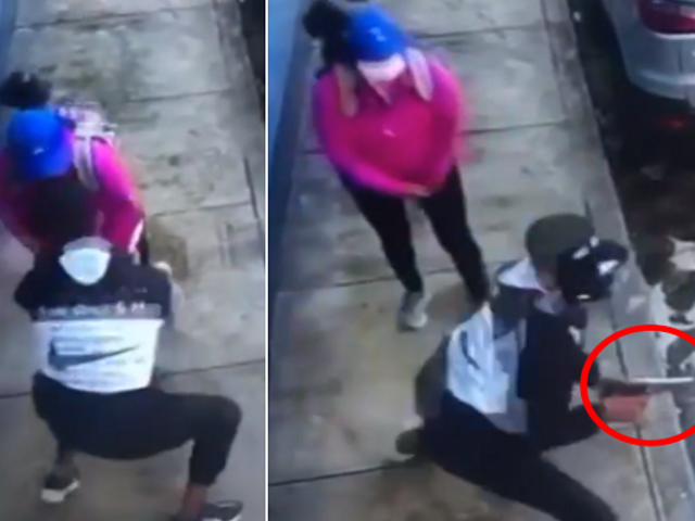 SMP: capturan a delincuente que asaltó a mujer a punta  de pistola