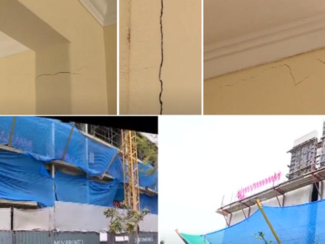 Miraflores: familia denuncia daños estructurales en su vivienda por obra de inmobiliaria