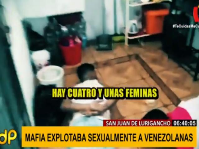 SJL: cae mafia que explotaba sexualmente a jóvenes venezolanas
