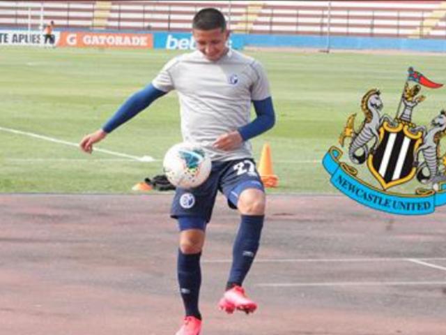 Alza el vuelo: Rodrigo Vilca se va a Inglaterra para jugar por Newcastle