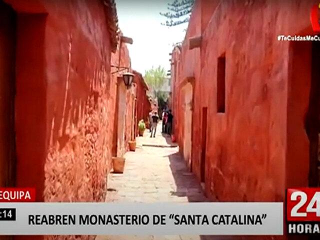 Arequipa: histórico monasterio de Santa Catalina reabre sus puertas