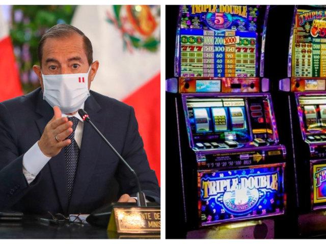 Gobierno descarta reapertura de casinos, tragamonedas e iglesias