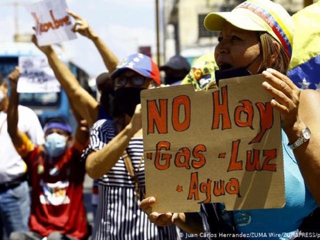 Venezuela: se registran protestas en 19 estados por falta de servicios básicos