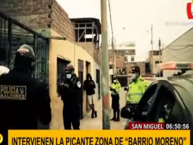 San Miguel combate la inseguridad y la delincuencia