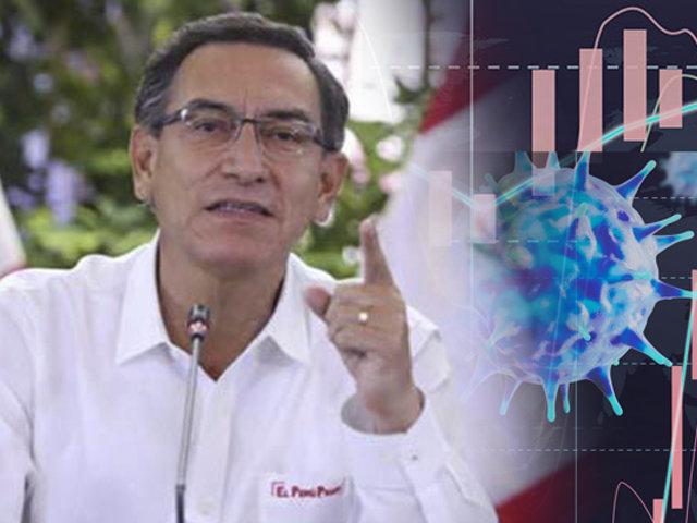 """Martin Vizcarra: """"El PBI viene recuperándose"""""""