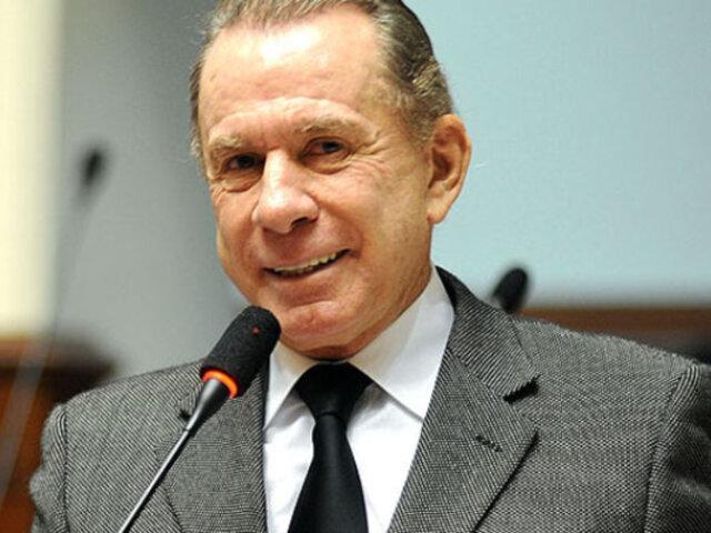 Ricardo Belmont: confirman que exalcalde se afilió a Unión por el Perú