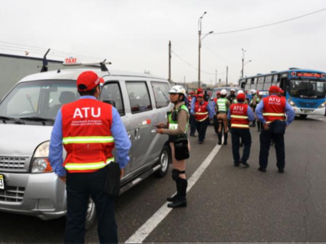 SJM:  captan a vehículo de ATU circular contra el tráfico