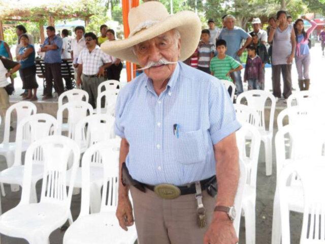 Humberto Requena: excongresista del FIM falleció hoy a los 92 años