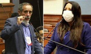 ONP: Burga y Celia García protagonizan altercado durante sesión virtual