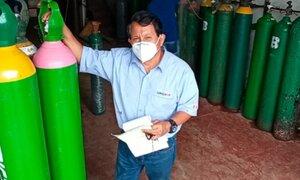 'Ángel del Oxígeno' denuncia amenazas contra sus trabajadores para que vendan oxígeno