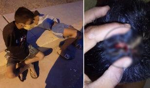 Sujeto le rompió la cabeza a su hijo con un martillo en Tumbes