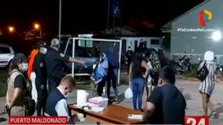 Puerto Maldonado: Intervienen a 10 meretrices y 6 de ellas dan positivo para Covid-19