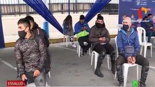 Campaña EsSalud Te Cuida: 500 repartidores por delivery fueron sometidos a pruebas de Covid-19