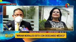 Abogado de Morales: 'Fiscalía debe ponerse de acuerdo sobre veracidad de los audios'