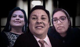 Richard Swing, Karem Roca y Mirian Morales fueron detenidos preliminarmente
