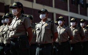 Ministro Gentille: más de 33, 700 policías están contagiados con COVID-19