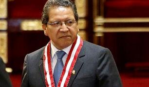 Fiscal Supremo Pablo Sánchez será coordinador del Equipo Especial 'Los Cuellos Blancos'