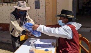 Mininter entregó más de 20 mil  kits de abrigo en zonas altoandinas